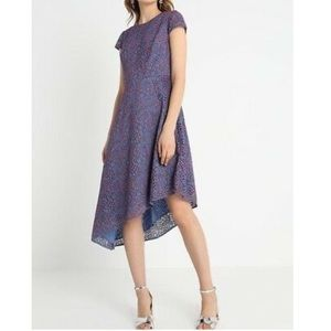 Banana Republic Lace Asymmetrical Hem Dress